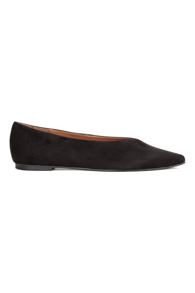 Pointed flats - Black - Ladies | H&M 1